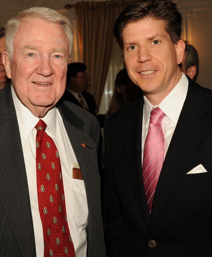 Foundation President Elliot Berke with Advisory Committee Member Ed ...